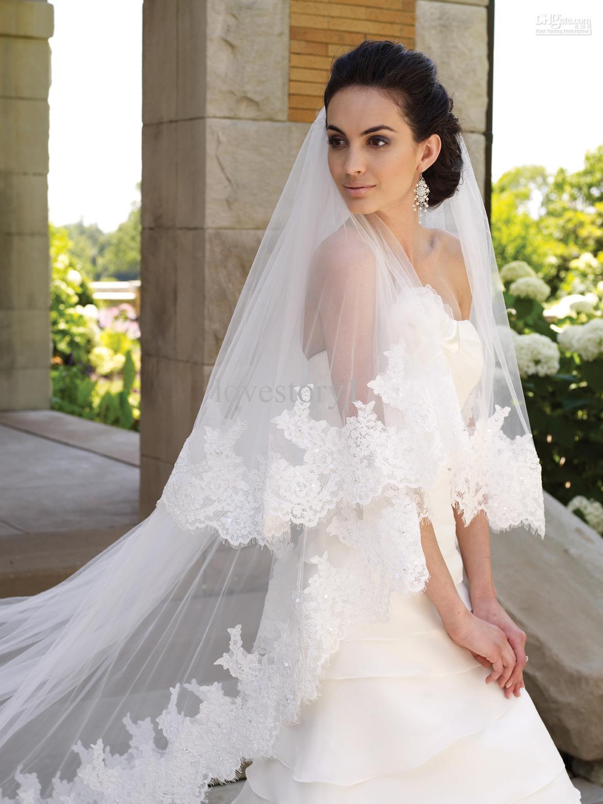 Uncategorized crowning glory veils lace1 style junglespirit Choice Image